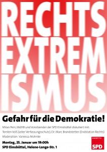 Plakat Rechtsextremismus